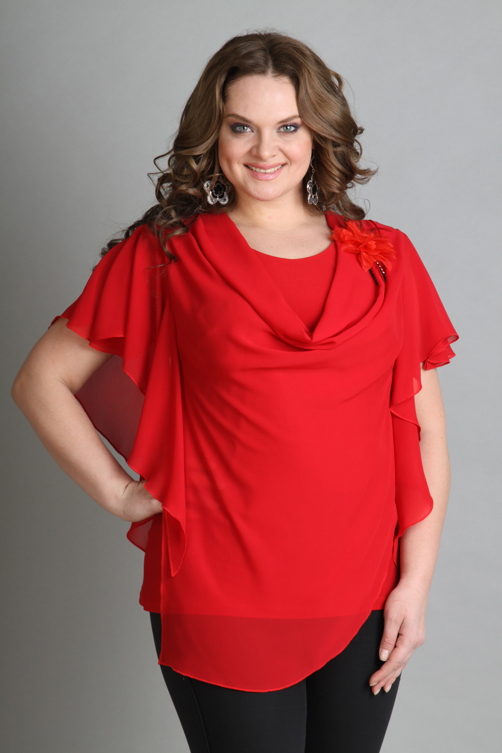 модели блузок для полных женщин фото выкройки